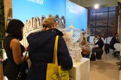 Tunesische Tourismus-Berechtigung an TT Warschau 2017 Stockbild