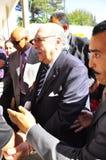 Tunesische tussentijdse Voorzitter die komt stemmen Royalty-vrije Stock Afbeeldingen