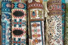 Tunesische Wolldecken Stockfotos