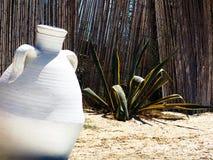Tunesischer Krug. Stockfoto