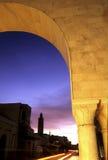 Tunesischer Sonnenaufgang lizenzfreies stockfoto