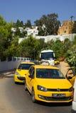 TUNEZJA AFRYKA, Sierpień, - 02, 2012: Ulicy w Sidi Bou Powiedzieli wewnątrz Obraz Stock