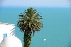 Tunezja. Sidi Bou Powiedział Zdjęcia Stock