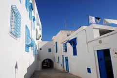Tunezja. Sidi Bou Powiedział Zdjęcia Royalty Free