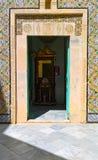 Tunezja, Sousse Wrzesień 19, 2016 Muzealny Dar Essid Wnętrze antyczny araba dom zdjęcie royalty free