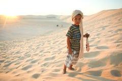 Tunezyjska chłopiec Obraz Royalty Free