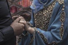 Tunezyjski małżeństwo Zdjęcie Royalty Free