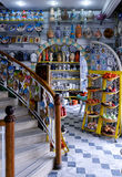 Tunezyjski tradycyjny garncarstwo na rynku Obraz Stock