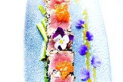 Tunfish Tataki Royalty-vrije Stock Afbeeldingen