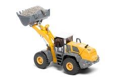 Tung bulldozer för Toy Fotografering för Bildbyråer