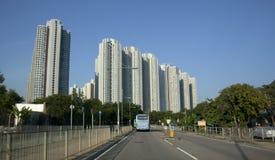 Tung Chung πύργοι Στοκ Εικόνα