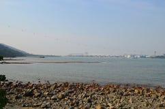 Tung Chung bay Royalty Free Stock Images