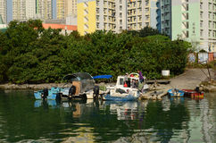 Tung Chung district Stock Images