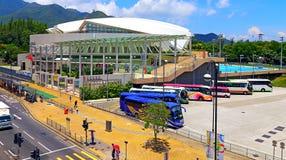 Tung chung swimming Pool, hong kong Royalty Free Stock Images