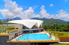 Tung chung swimming Pool, hong kong Royalty Free Stock Image
