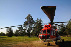 tung helikopter Royaltyfri Foto
