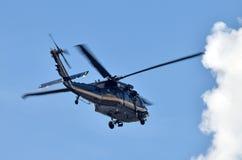 Tung heliocopter Arkivbild