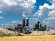 tung industri romania Royaltyfria Foton