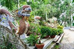 Tung Lam Buddhist Pagoda Il Vietnam vietnam immagine stock libera da diritti