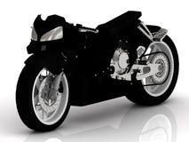 Tung motorcykel royaltyfri fotografi