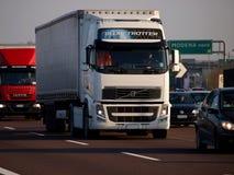 Tung trafik för Afternnon stadsmotorway Royaltyfria Bilder