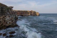 Tunga Black Sea Royaltyfria Bilder
