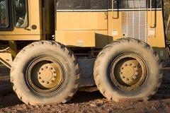 tunga hjul för utrustning Royaltyfria Bilder