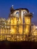 Tunga industriella kemikaliedetaljer Arkivbild