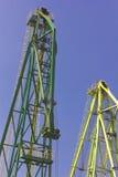 Tunga industriella kranar Royaltyfri Foto