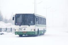 tunga snowfall Royaltyfri Bild