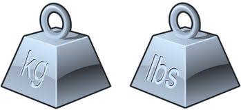 tunga symboler Arkivfoton