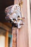 Tunga tradicional nepalés del instrumento de la secuencia de la música Imagen de archivo