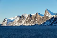 Tungeneset Senja Noruega Imagens de Stock Royalty Free