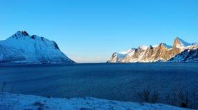 Tungeneset Senja Noruega imagens de stock