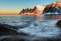 Tungeneset Senja Noruega Fotos de Stock Royalty Free