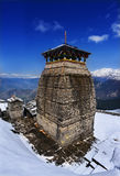 Tungnath est le temple de Lord Shiva en Himalaya Photos stock