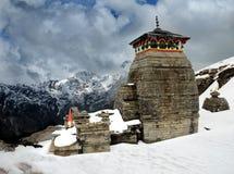 Tungnath Shiva tempel Royaltyfria Bilder