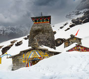 Tungnath is the Shiva temple Stock Photography