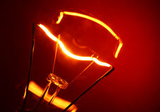 Tungsten Bulb Stock Photography