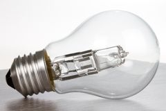 Tungsten bulb Stock Photo