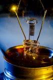 Tungsten filament bulbs Royalty Free Stock Photos