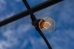 Tungsten filament II Royalty Free Stock Image