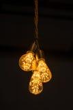 Tungsten lamp for interior Stock Image