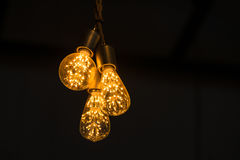 Tungsten lamp for interior Stock Images