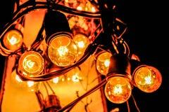 Tungsten lamp lighting Stock Photography