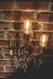 Tungsten lamps Royalty Free Stock Photos