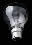 Tungsten light bulb Stock Photography