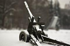 tungt artilleri Royaltyfri Fotografi
