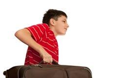 tungt bagage fotografering för bildbyråer
