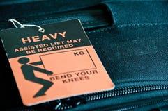 tungt bagage royaltyfria foton